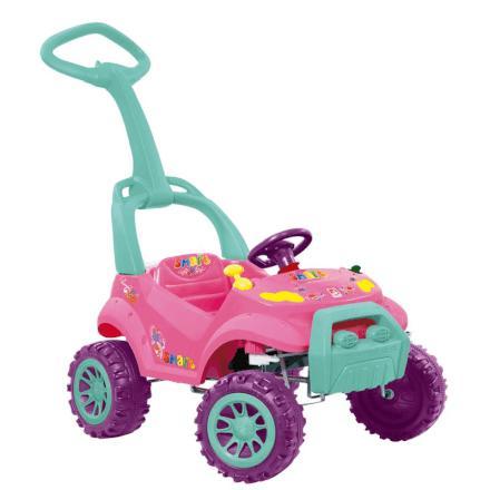 bcb33183a8173 Carro a Pedal Smart Car Passeio Rosa Bandeirante - 462 - Brinquedos ...