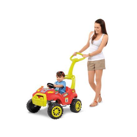 dad42c46d7063 Imagem de Carro a Pedal Smart Car Passeio Vermelho Bandeirante - 461