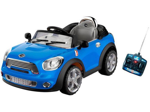 08036b6ebb Carro Elétrico Infantil 912300 - com Controle Remoto e Farol Bel Brink 6V