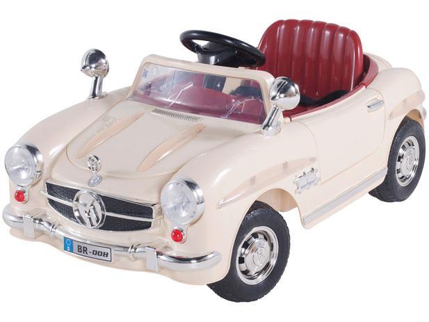 Carro Elétrico Infantil Antigo - com Controle Remoto Emite Sons Bel Brink 6V a0451ef73ee