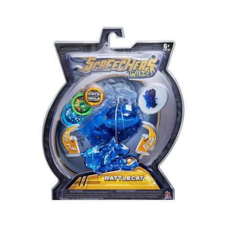 Imagem de Carro Screechers Wild 360 Rattlecat Lança Discos - DTC