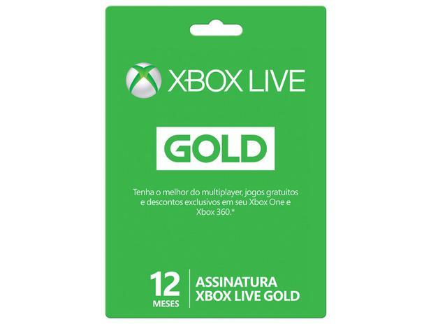 Oferta ➤ Cartão Microsoft Xbox Live Gold 12 meses   . Veja essa promoção