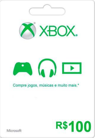 Imagem de Cartão Xbox Live 100