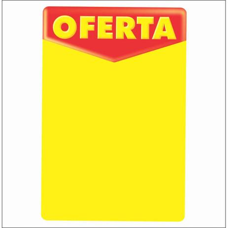 Imagem de Cartaz oferta 20x30cm (c/50 unidades)