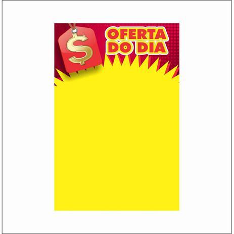 Imagem de Cartaz oferta do dia 20x30cm (c/50 unidades)