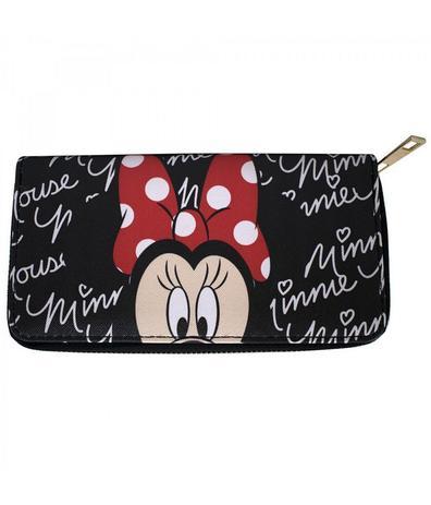 Carteira Rosto Minnie Preta - Disney - Carteiras - Magazine Luiza 9154ef3419a