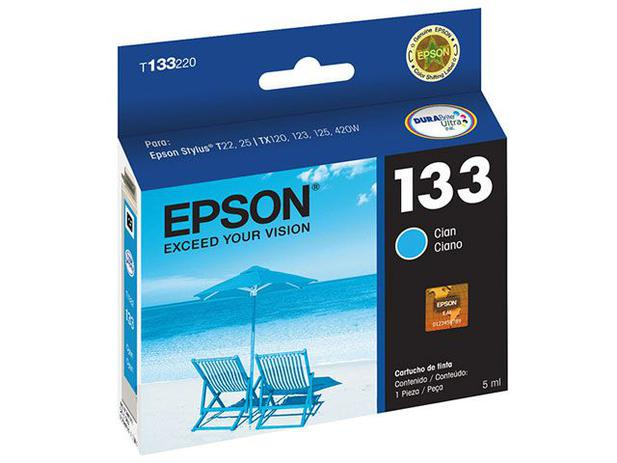 Cartucho de Tinta Epson Ciano - T133220