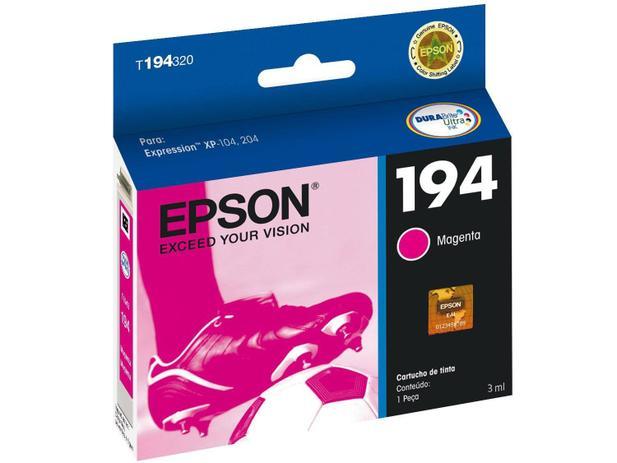 Cartucho de Tinta Epson Magenta - T194320-BR