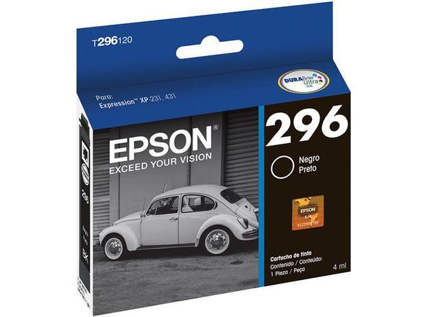 Cartucho de Tinta Epson Preto - DURABrite Ultra Ink para Epson XP-231 Epson XP-241