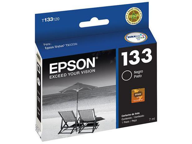 Cartucho de Tinta Epson Preto - T133120