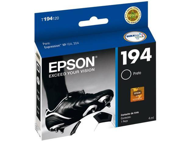 Cartucho de Tinta Epson Preto - T194120-BR