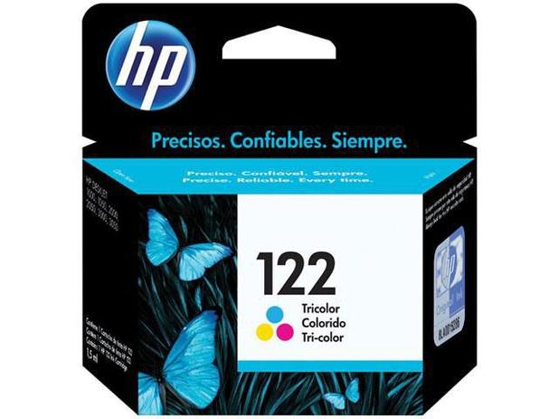 Cartucho de Tinta HP 122 Colorido Original CH562HB