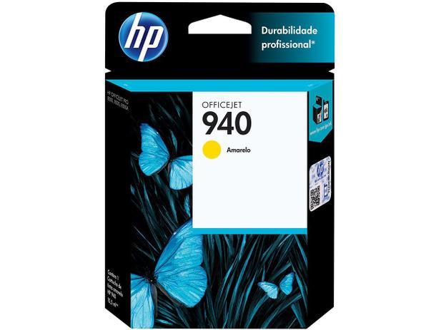 Cartucho de Tinta HP Amarelo 940 Officejet - Original