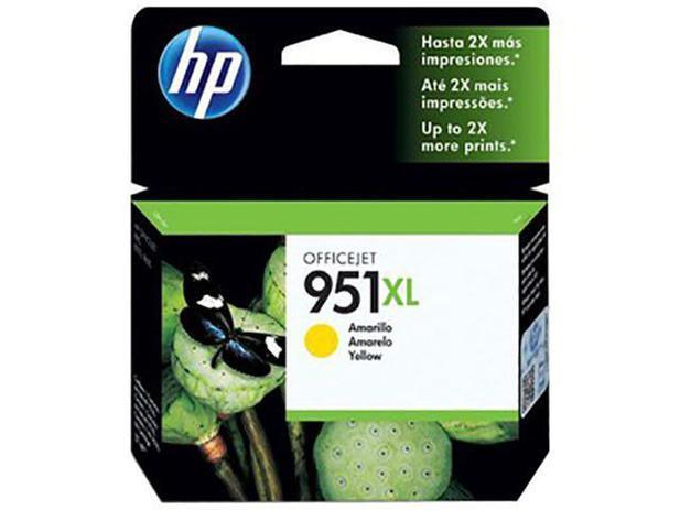 Cartucho de Tinta HP Amarelo 951 XL - Original