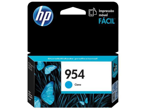 Cartucho de Tinta HP Ciano 954 - Original para HP 8210 HP 8710 HP 8720 HP 7740