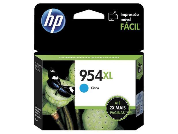 Cartucho de Tinta HP Ciano 954 XL - Original para HP 8210 HP 8710 HP 8720 HP 7740