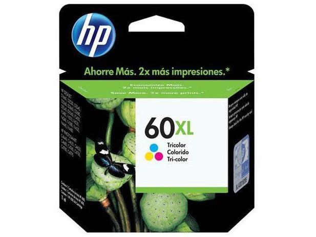 Imagem de Cartucho de Tinta HP Colorido 60 XL