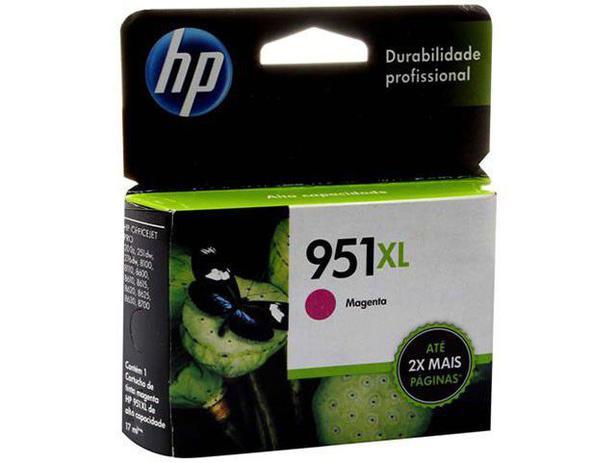 Cartucho de Tinta HP Magenta 951 XL - Original