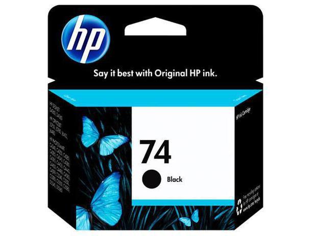 Cartucho de Tinta HP Preto 74 - Original