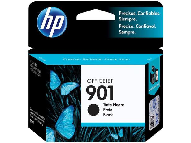 Cartucho de Tinta HP Preto 901 Officejet - Original