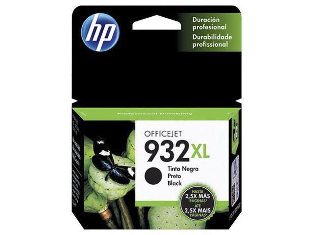 Cartucho de Tinta HP Preto 932 XL - Original para HP 7510