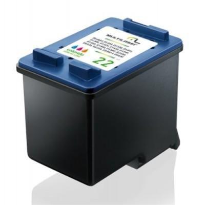 Imagem de Cartucho Impressora Comp. P/ Hp Mod.000022 Color Co022