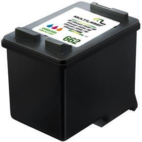 Imagem de Cartucho Impressora Comp. P/ Hp Mod. 662 Color Co662c