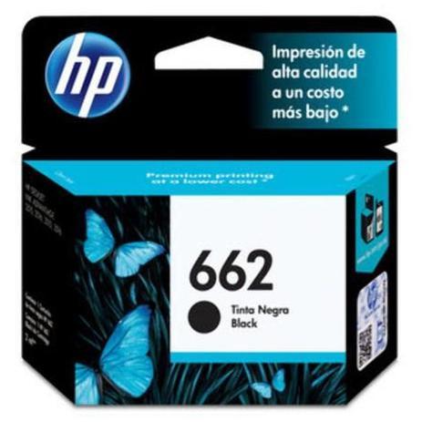 Imagem de Cartucho Impressora Hp Deskjet Ink Advantage 662 Cz103ab Preto 2ml