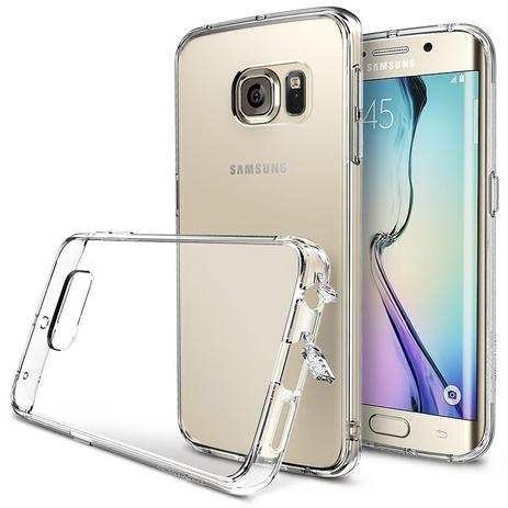Imagem de Case Protetora Transparente Para Celular Galaxy S6 Edge - Qualidade Premium