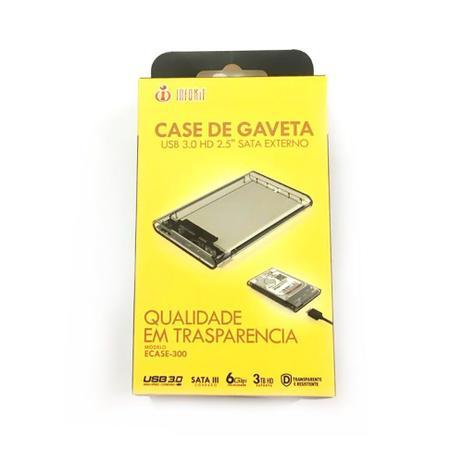 Imagem de Case USB 3.0 para HD SATA 2.5