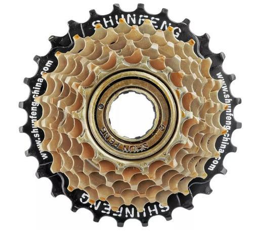Imagem de Catraca Roda Livre 6 Velocidades Para Bike 18 Marchas 14-28