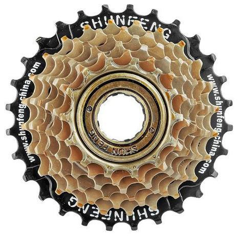 Imagem de Catraca Roda Livre 7 Velocidades Para Bike 21 Marchas 14-28