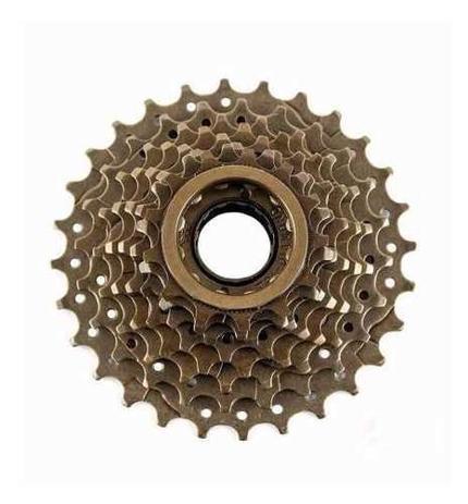 Imagem de Catraca Roda Livre Index 8v 13-28 Dentes Bicicleta Bike Mtb
