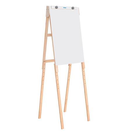 Imagem de Cavalete Para Quadro Flip Chart Stalo 8412 Compact Line Branco