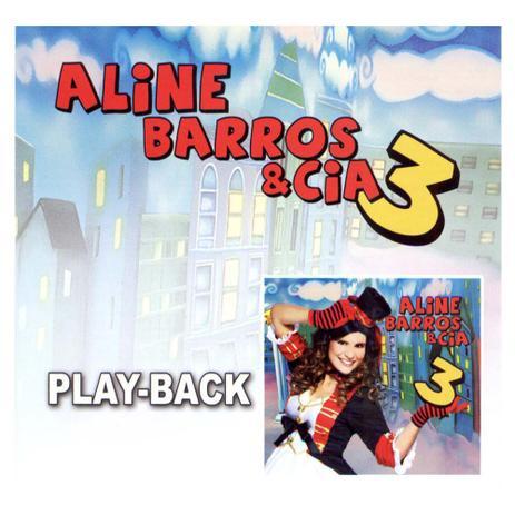 Cd Aline Barros Cia 3 Play Back Mk Music Musica E Shows