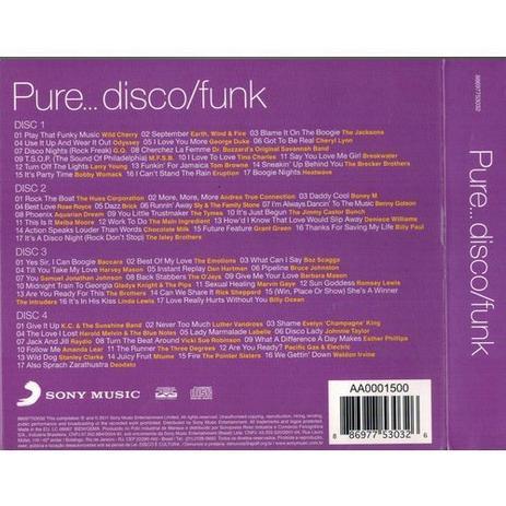 Imagem de CD Box Pure - Disco/Funk (4CDs)