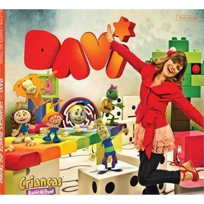 Imagem de CD Davi Crianças Diante do Trono