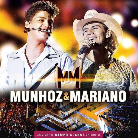 Imagem de CD Munhoz e Mariano - Ao Vivo Em Campo Grande Volume II