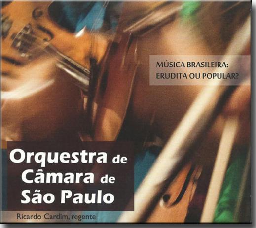 Imagem de Cd Orquestra de Câmara de São Paulo - Musica Brasileira Erudita ou