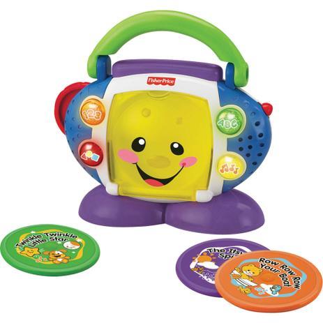 Imagem de CD Player - Aprender e Brincar - FISHER-PRICE