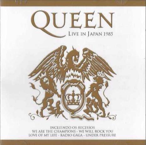 Imagem de CD Queen - Live In Japan 1985