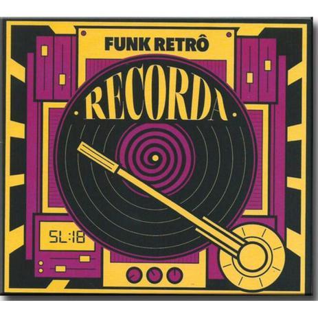 Imagem de Cd recorda funk retro digipack