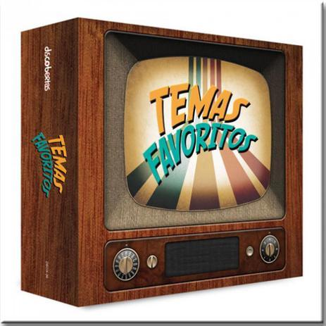 Imagem de Cd Temas Favoritos - Desenhos e Seriados Clássicos - Diversos Internacio (box 3cds)