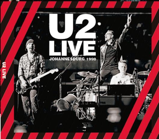 CD U2 Live Johannesburg 1998 + CD U2 Wide Awake in America - Combo