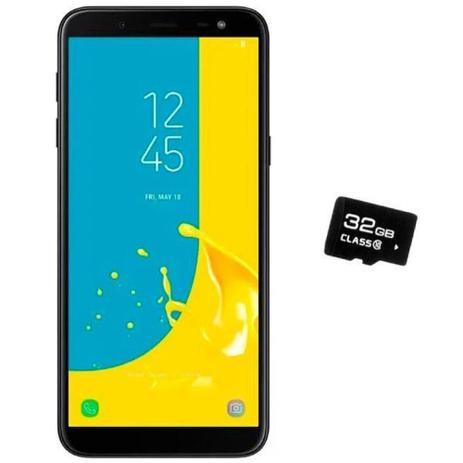 Imagem de Celular Galaxy J6 32gb +cartao De Memoria De 32gb
