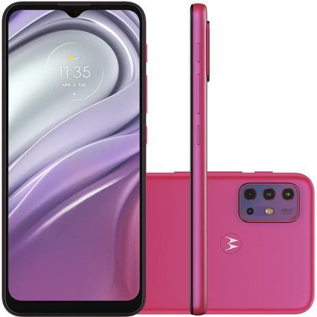 Imagem de Celular Motorola Moto G20 Pink 64GB Tela 6.5 4GB RAM Camera 48MP 8MP 2MP 2MP