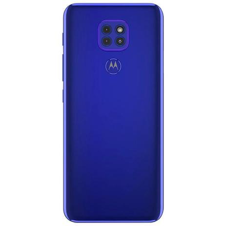 Imagem de Celular Motorola Moto G9 Play Azul 64GB Tela 6.5 4GB RAM Cam Tripla 48MP 2MP 2MP