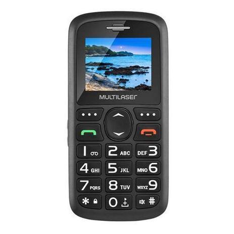 Imagem de Celular Para Idoso SOS Vita 3 Dual Chip Fm Mp3 Bluetooth Câmera SOS - Multilaser