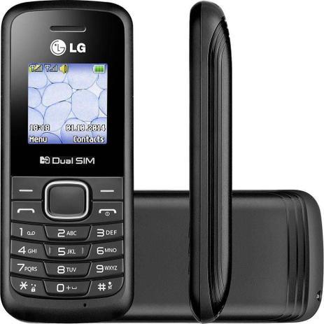 Imagem de Celular Simples Dual Chip LG B220 Desbloqueado 32MB 2G Lanterna Rádio FM