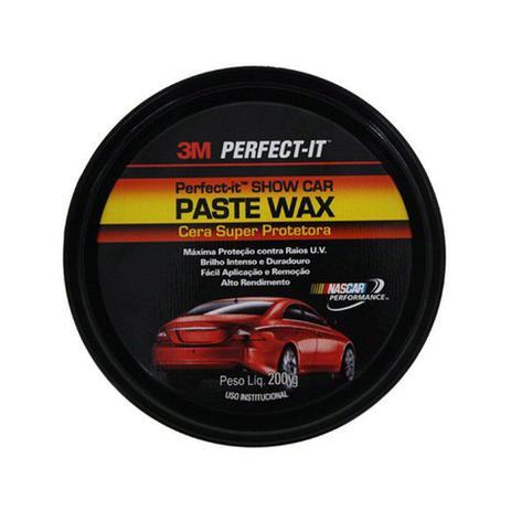 Imagem de Cera em Pasta Paste Wax Super Protetora 200g 3M